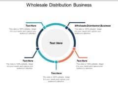 Wholesale Distribution Business Ppt PowerPoint Presentation Model Deck Cpb