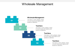 Wholesale Management Ppt PowerPoint Presentation File Background