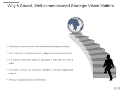 Why A Sound Well Communicated Strategic Vision Matters Ppt PowerPoint Presentation Inspiration Mockup