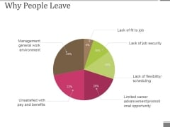Why People Leave Ppt PowerPoint Presentation Infographic Template Structure
