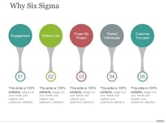 why six sigma template 2 ppt powerpoint presentation professional slides