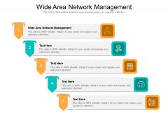 Wide Area Network Management Ppt PowerPoint Presentation Show Elements Cpb Pdf