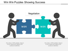 Win Win Puzzles Showing Success Ppt Powerpoint Presentation Infographic Template Introduction