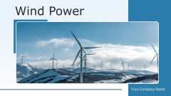 Wind Power Producing Energy Ppt PowerPoint Presentation Complete Deck With Slides