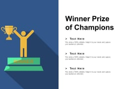 Winner Prize Of Champions Ppt PowerPoint Presentation Styles Design Templates