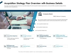 Winning New Customers Acquisition Strategy Plan Overview With Business Details Rules PDF