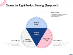 Wireless Phone Information Management Plan Choose The Right Product Strategy Market Clipart PDF
