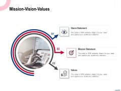 Wireless Phone Information Management Plan Mission Vision Values Brochure PDF