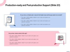 Wireless Phone Information Management Plan Production Ready And Post Production Ideas PDF