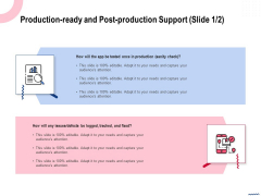 Wireless Phone Information Management Plan Production Ready And Post Production Support Topics PDF