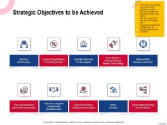Wireless Phone Information Management Plan Strategic Objectives To Be Achieved Professional PDF
