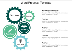 Word Proposal Template Ppt PowerPoint Presentation Themes Cpb