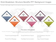 Work Breakdown Structure Benefits Ppt Background Images