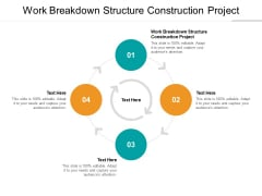 Work Breakdown Structure Construction Project Ppt PowerPoint Presentation Outline Grid Cpb