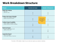 Work Breakdown Structure Ppt PowerPoint Presentation Infographics Example File