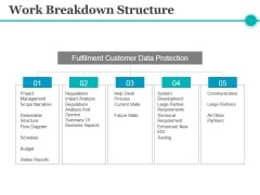 Work Breakdown Structure Ppt PowerPoint Presentation Infographics Skills
