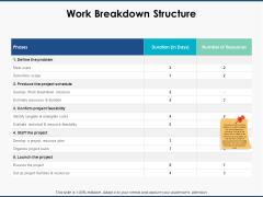 Work Breakdown Structure Ppt PowerPoint Presentation Portfolio Infographics
