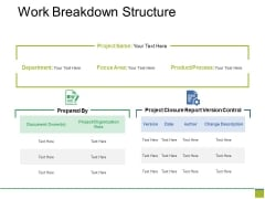 Work Breakdown Structure Ppt PowerPoint Presentation Professional Rules