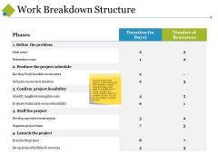Work Breakdown Structure Ppt PowerPoint Presentation Show Designs Download