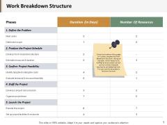 Work Breakdown Structure Ppt PowerPoint Presentation Styles Portfolio