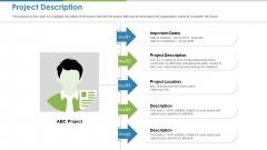 Work Execution Liability Project Description Ppt Icon Graphics Tutorials PDF