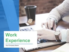 Work Experience Ppt PowerPoint Presentation Complete Deck With Slides