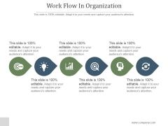 Work Flow In Organization Ppt PowerPoint Presentation Background Images