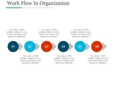 Work Flow In Organization Ppt PowerPoint Presentation Example 2015
