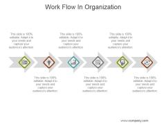 Work Flow In Organization Ppt PowerPoint Presentation Guide