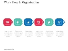 Work Flow In Organization Ppt Powerpoint Presentation Layouts Layout