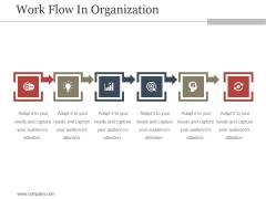 Work Flow In Organization Ppt PowerPoint Presentation Templates