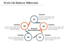 Work Life Balance Millennials Ppt PowerPoint Presentation Portfolio Graphic Tips Cpb