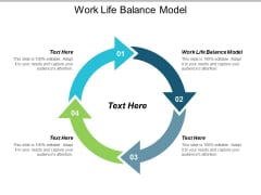 Work Life Balance Model Ppt PowerPoint Presentation Ideas Example File Cpb