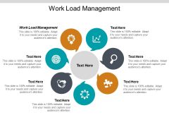 Work Load Management Ppt PowerPoint Presentation Summary Tips Cpb