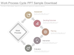 Work Process Cycle Ppt Sample Download
