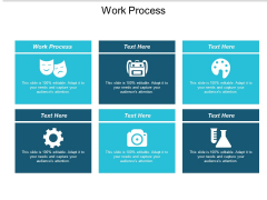 Work Process Ppt PowerPoint Presentation Professional Deck Cpb