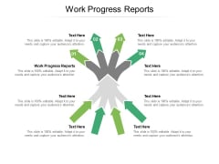 Work Progress Reports Ppt PowerPoint Presentation Portfolio Example File Cpb