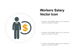 Workers Salary Vector Icon Ppt PowerPoint Presentation Professional Designs Download