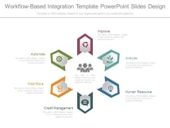 Workflow Based Integration Template Powerpoint Slides Design