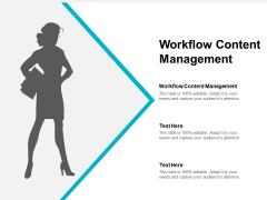 Workflow Content Management Ppt PowerPoint Presentation Professional Mockup Cpb