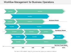 Workflow Management For Business Operations Ppt Powerpoint Presentation Pictures Model