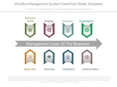 Workflow Management System Powerpoint Slides Templates