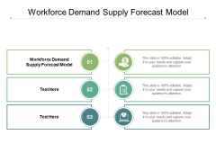 Workforce Demand Supply Forecast Model Ppt PowerPoint Presentation Summary Infographics Cpb