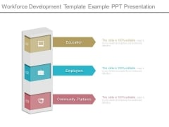 Workforce Development Template Example Ppt Presentation