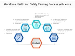 Workforce Health And Safety Planning Process With Icons Ppt PowerPoint Presentation Gallery Topics PDF