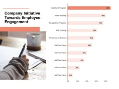 Workforce Planning System Company Initiative Towards Employee Engagement Ppt PowerPoint Presentation Infographic Template Slideshow PDF