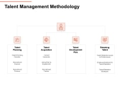 Workforce Planning System Talent Management Methodology Ppt PowerPoint Presentation Show Shapes PDF