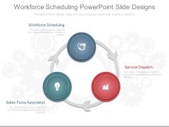 Workforce Scheduling Powerpoint Slide Designs