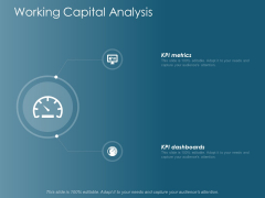 Working Capital Analysis Business Ppt Powerpoint Presentation Show
