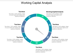 Working Capital Analysis Ppt PowerPoint Presentation Professional Sample